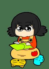 Interesting Sticker 02 Gee-kun soft sticker #4943663