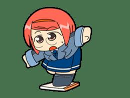 Interesting Sticker 02 Gee-kun soft sticker #4943668