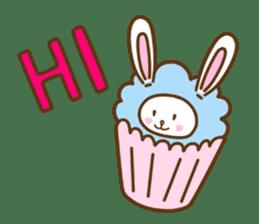 Cupcake and Chocchip sticker #4944246