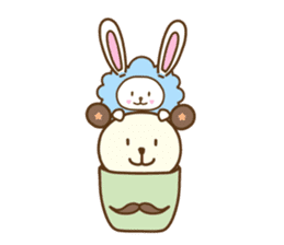 Cupcake and Chocchip sticker #4944256