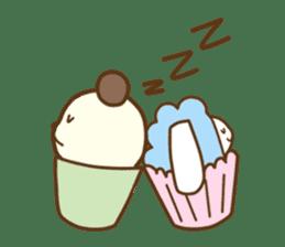 Cupcake and Chocchip sticker #4944260