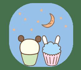 Cupcake and Chocchip sticker #4944262