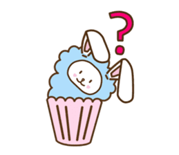 Cupcake and Chocchip sticker #4944266