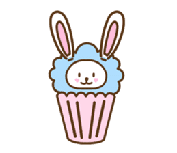 Cupcake and Chocchip sticker #4944267