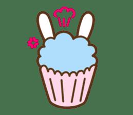 Cupcake and Chocchip sticker #4944268