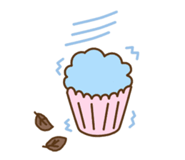 Cupcake and Chocchip sticker #4944278