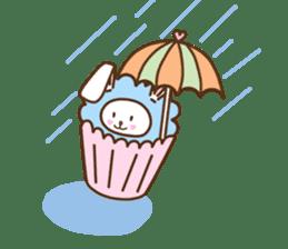 Cupcake and Chocchip sticker #4944282