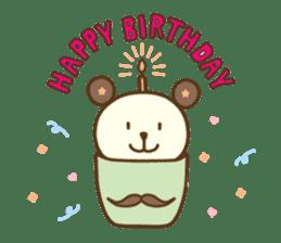 Cupcake and Chocchip sticker #4944283