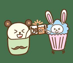 Cupcake and Chocchip sticker #4944284