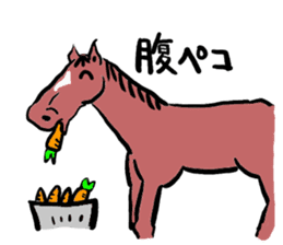 Mr,E-horse sticker #4944374