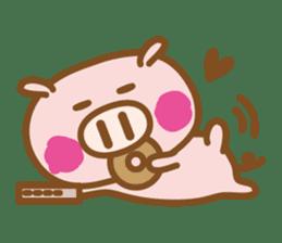 Loose pig4 ENG/season sticker #4946328