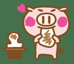 Loose pig4 ENG/season sticker #4946329