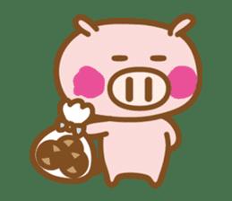 Loose pig4 ENG/season sticker #4946335
