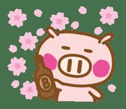 Loose pig4 ENG/season sticker #4946339