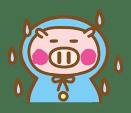 Loose pig4 ENG/season sticker #4946343