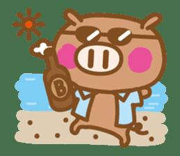 Loose pig4 ENG/season sticker #4946346