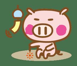 Loose pig4 ENG/season sticker #4946348