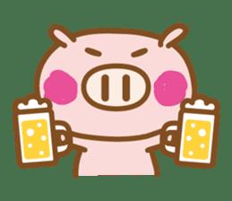 Loose pig4 ENG/season sticker #4946357