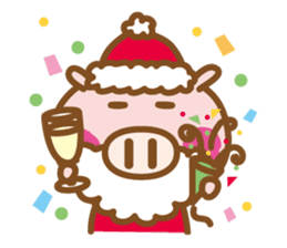 Loose pig4 ENG/season sticker #4946359