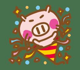 Loose pig4 ENG/season sticker #4946364
