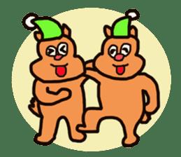 Funny squirrel sticker sticker #4947189