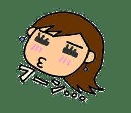 SAKURA YOKOMINE LOVE GOLF sticker #4947213