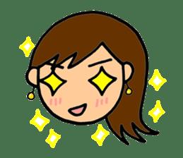 SAKURA YOKOMINE LOVE GOLF sticker #4947215
