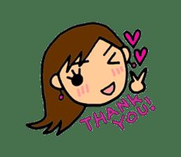 SAKURA YOKOMINE LOVE GOLF sticker #4947220