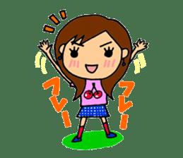 SAKURA YOKOMINE LOVE GOLF sticker #4947221