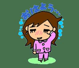 SAKURA YOKOMINE LOVE GOLF sticker #4947222