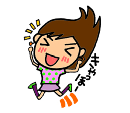 SAKURA YOKOMINE LOVE GOLF sticker #4947225