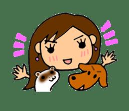 SAKURA YOKOMINE LOVE GOLF sticker #4947228