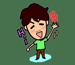 SAKURA YOKOMINE LOVE GOLF sticker #4947242