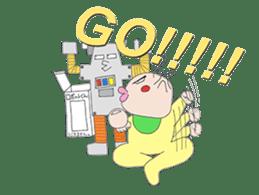 Akachan Oyabun sticker #4947287