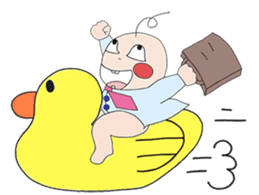 Akachan Oyabun sticker #4947314