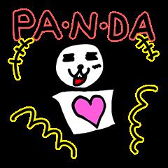 LINEスタンプ:パンダモドキさん