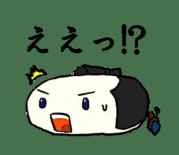 Kagami mochi samurai part2 sticker #4948247