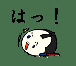 Kagami mochi samurai part2 sticker #4948250