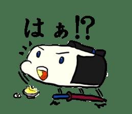 Kagami mochi samurai part2 sticker #4948251