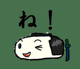Kagami mochi samurai part2 sticker #4948254