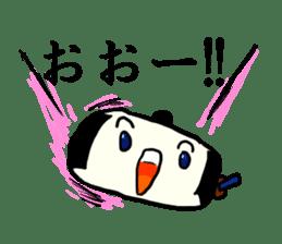 Kagami mochi samurai part2 sticker #4948261