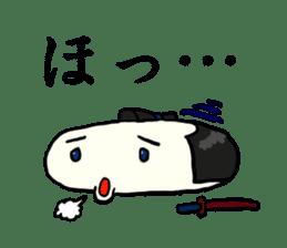 Kagami mochi samurai part2 sticker #4948275