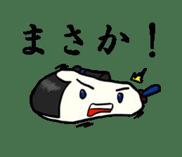 Kagami mochi samurai part2 sticker #4948277