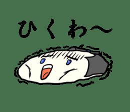 Kagami mochi samurai part2 sticker #4948281