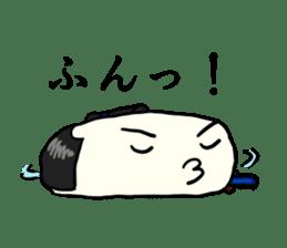 Kagami mochi samurai part2 sticker #4948282