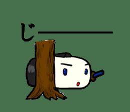 Kagami mochi samurai part2 sticker #4948284