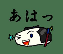 Kagami mochi samurai part2 sticker #4948285