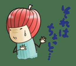Princess RINGO 3 [negative ver.] sticker #4948540