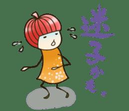Princess RINGO 3 [negative ver.] sticker #4948558