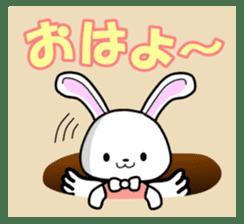 Faith Rabbit sticker #4949487